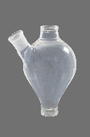 Silicon coated glass vessel with side arm approximately 1L